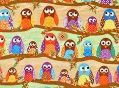 Owls, owls and owls..