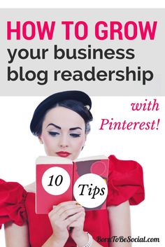 HOW TO GROW YOUR BUSINESS BLOG READERSHIP WITH PINTEREST! Any business that publishes blog articles, whether B2B or B2C, can use Pinterest to promote articles and drive more website traffic. Your business blog content probably feeds your social media content pipeline to Twitter, Facebook and LinkedIn, but how about Pinterest? People are turning to Pinterest not only to look at things, but also to find articles to read. Are you optimising Pinterest to grow your audience? Follow these…