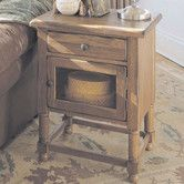 Found it at Wayfair - Attic Chairside Table