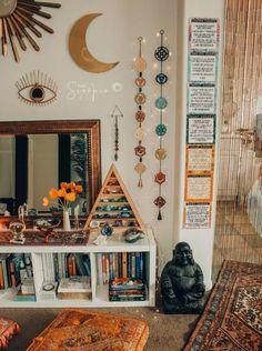 Chakra Awakening Wall Hanging - Home Decoration Ideas Bohemian House, Bohemian Decor, Boho Chic, Bohemian Style, Bohemian Lighting, Bohemian Furniture, Gypsy Style, Ux Design, Design Concepts