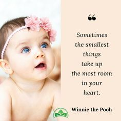 Sometimes the smallest things take up the most space in your heart.❤️ #motherhood #mommyquotes #babyquotes #baby