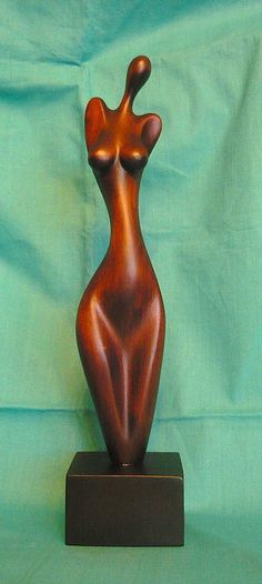 y Modern Art Sculpture, Abstract Sculpture, Sculptures Céramiques, Sculpture Clay, Creation Deco, Ceramic Figures, Wooden Art, Erotic Art, African Art