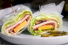Turkey Club Wraps (Keto + Low Carb!)