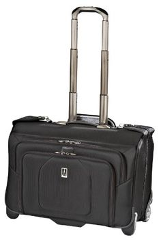 Travelpro Luggage Crew 9 Rolling Garment CarryOn Bag Black One Size >>> You can get additional details at the image link. (Note:Amazon affiliate link)