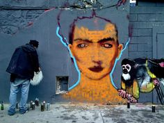 Street Art in Paris: Some Fascinating Examples in Pictures: In Living Colors: An International Street Art Festival