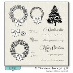 Stamp Set from Verve Stamps