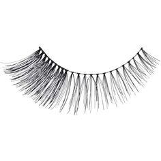 Miss Selfridge Girls Night Eyelashes ($12) ❤ liked on Polyvore featuring beauty products, makeup, eye makeup, false eyelashes, black and miss selfridge