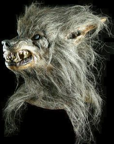 halloween mask bad moon werewolf