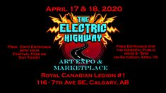 Art event in Calgary, AB, Canada by The Electric Highway and 10 others on Friday, April 17 202018 posts in the discussion. Stoner Rock, Art Festival, Local Artists, Calgary, Electric, Public, Free