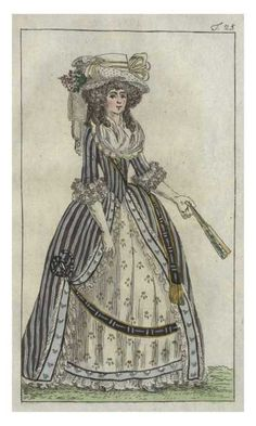 Journal des Luxus, 1788 - very interesting combo..