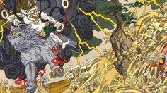 http://www.abc.es/cultura/arte/20141008/abci-akira-tsunami-japon-aeropuerto-201410081116.html    Así es el mural que recordará el Tsunami de 2011 en el aeropuerto de Sendai abc.esabc_cultura / tokio  La localidad, al norte de Japón. contará con la pieza de Otomo, en la que ha mezclado la mitología nipona y el «cyberpunk»