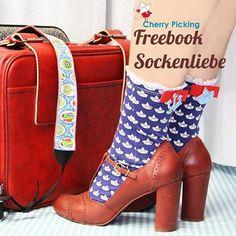 Freebook zum Socken nähen von Cherry Picking