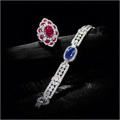 Important Kashmir Sapphire and Diamond Bracelet, Cartier Cartier Diamond Bracelet, Sapphire Bracelet, Diamond Jewelry, Luxury Jewelry, Modern Jewelry, Fine Jewelry, Sterling Silver Bracelets, Jewelry Bracelets, Gold Necklaces