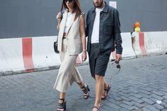 J'aime tout chez toi - french fashion couple during NY fashion week