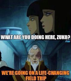 Legend of Korra: I wish Zuko actually said this <--- That would have been amazing XD