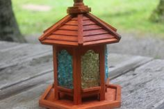 Through the Looking Glass Bird Feeder by DaughterOfGuy on Etsy