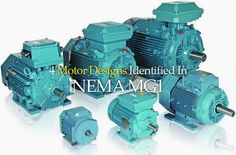 It's all about performance…  Performance requirements for various types of induction motors for use on standard sinewave power supplies are identified in NEMA MG1. Some of these types of motors are suitable for use in variable speed applications, dependent on the type of application.  Performance requirements are also identified for motors for specific use invariable speed applications.