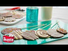 Recetas Receta de la semana   Receta Piruletas de chocolate