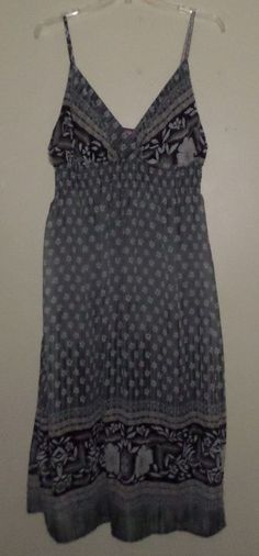 332f72a9ca6 She s Cool Maxi Dress Sheer Lined Chiffon Smocked Sundress Floral Plus 2x  18 20. Plus Size ...