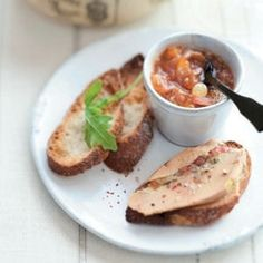 terrine de foie gras aux figues et son chutney