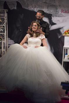 Peinado de #novia by RdA, en la pasada edición de #expobodas. #weddinghair #weddingplanner
