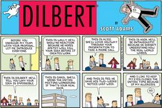 Who can resist Dilbert? Oh and of course - PR Daily's: 6 ways to simplify the client pitch http://www.prdaily.com/Main/Articles/11429.aspx