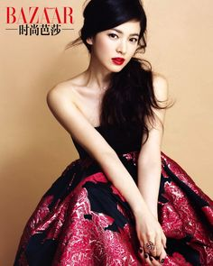 Wedding Makeup Asian Song Hye Kyo 33 Ideas Hochzeits Make-up Asian Song Hye Kyo 33 Ideen Song Hye Kyo, Korean Beauty, Asian Beauty, Beautiful Asian Women, Beautiful People, Asian Woman, Asian Girl, Cool Winter, Bright Red Lipstick