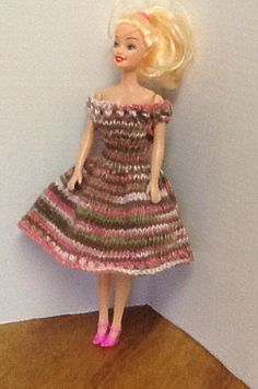 Fashion dolls summer dress off the by Buffalosbabyboutique on Etsy