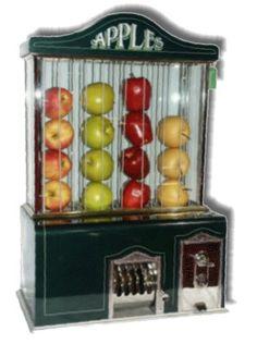 @Joan Cunnings-Apple Vending Machine-manufacturer:-Apple Vendor Co. Seattle Washington New Way Life Mfg. Co    surprises never cease!