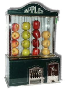 @Joan Cunnings-Apple Vending Machine-manufacturer:-Apple Vendor Co. Seattle Washington New Way Life Mfg. Co    surprises never cease!