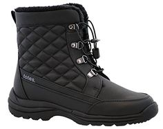 Totes Womens Troy Snow Boot,Black,9M ** Click image to review more details.