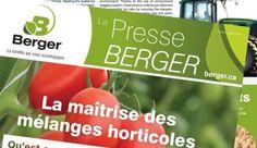 Berger | Mélanges horticoles de haute qualité