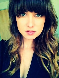 MagTag - Ombre with Bangs