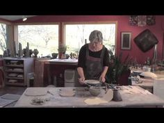 How to Make a Folded Form with a Clay Slab | JAN MCKEACHIE JOHNSTON - YouTube