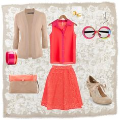 Spring bright! outfit created by me/adkulu