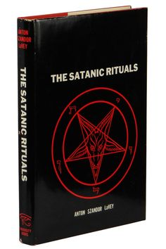 The Satanic Ritual by ANTON SZANDOR LAVEY ~ First Edition 1972 ~ 1st Satanism
