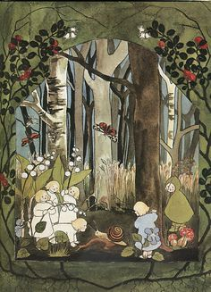 myaloysius: The Story of the Root-Children by Sibylle Von Olfers (1881-1916)