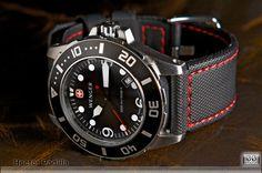 Wenger Aquagraph 1000m + Maratac 22mm strap Watch = ~$270 Strap = ~22