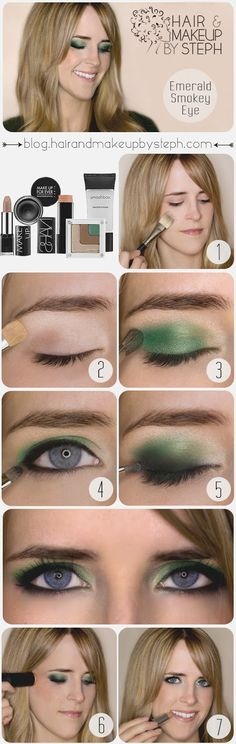 How to:  Emerald Smokey Eye Plus WIN the makeup from @Sephora used to create this look!