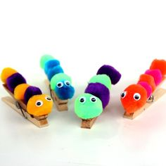 Kid Craft - Pom Pom Caterpillar