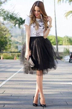 5771d6b0 Casual-Style Girls Tutu Skirt Bespoke Women Adult Engagemant Shoots Tulle  Skirt Black Tulle Skirt