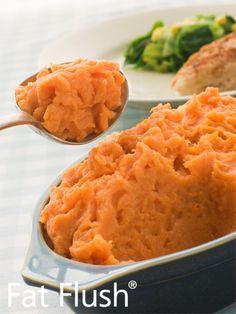 Sweet Potato Casserole- Official Fat Flush Recipe