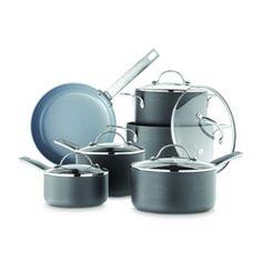 GreenPan® New York 11-Piece Non-Stick Cookware Set - Sears | Sears Canada Canada Shopping, Cookware Set, Online Furniture, Mattress, Appliances, Wonderland, Gadgets, York, Tools