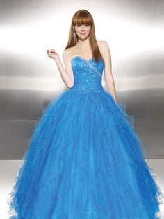 This reminds me of my senior prom dress,...but mine was a like darker blue....LOVED IT!