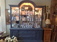 Montreal Qc, Country Chic, Chalk Paint, Painted Furniture, Liquor Cabinet, Corner, Cottage, Meet, Facebook