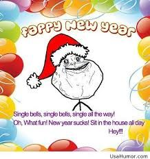 happy new year greetings text funny