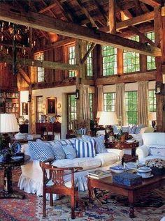 Beautiful Cozy Log Home