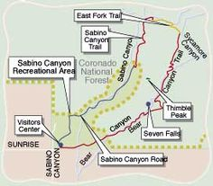 Tucson Sabino Canyon - Sabino Canyon in Tucson Arizona