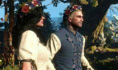 Yennefer and Geralt's wedding