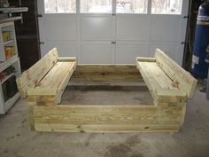 """link on """"how to"""" build this is found here:  http://ana-white.com/2011/10/plans/sand-box-built-seats"""